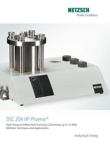 DSC 204 HP Phoenix - product brochure