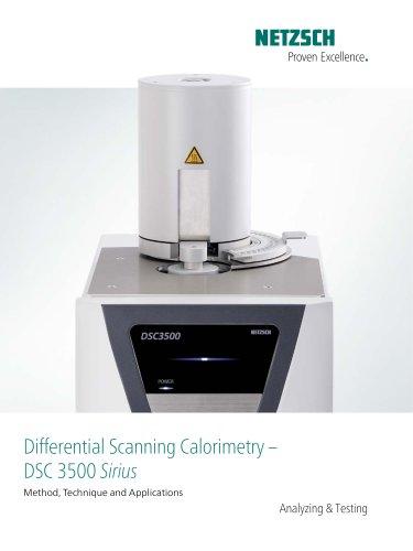 DSC 3500 Sirius - product brochure