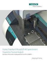 TG-FTIR - product brochure