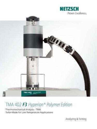 TMA 402 F3 Hyperion Polymer Edition