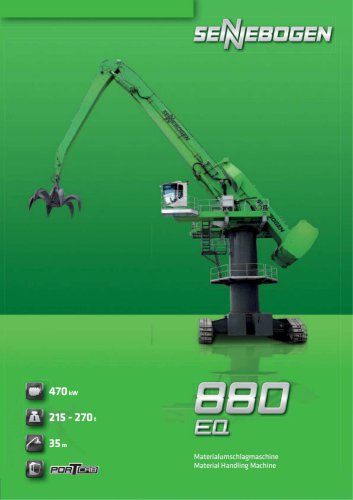 Equilibrium Handler / Balancer 880 EQ - Green Line