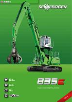 Material handling machine 835 Crawler E-Series - Green Line