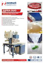 SUPRA DUO   Double Station High Frequency Welder for Stretch Ceilings, PVC Films