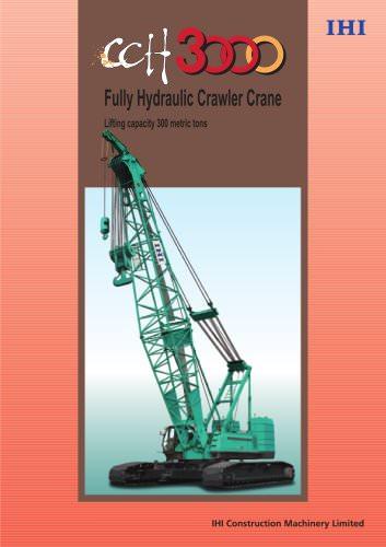 Crawler Crane CCH3000