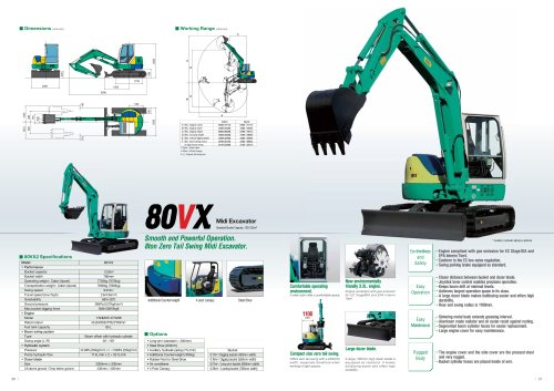 Midi Excavator 80VX2