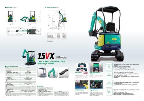 Mini Excavator 15VX