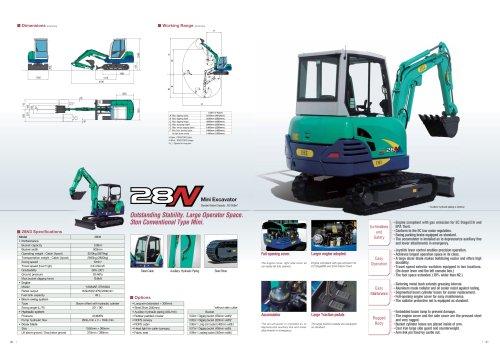 Mini Excavator 28N3