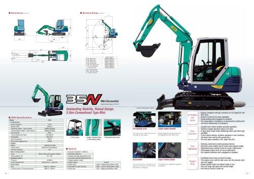 Mini Excavator 35N3
