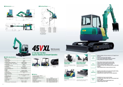 Mini Excavator 45VXL