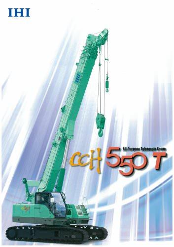 Telescopic Crane CCH550T