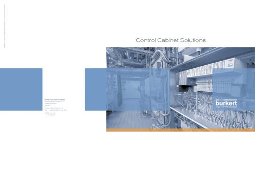 Flyer Control Cabinet Solutions