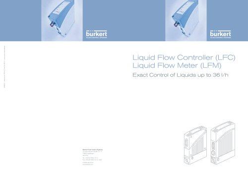 Liquid Flow Controller (LFC) and Liquid Flow Meter (LFM)
