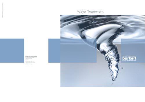 Water Treatment Brochure