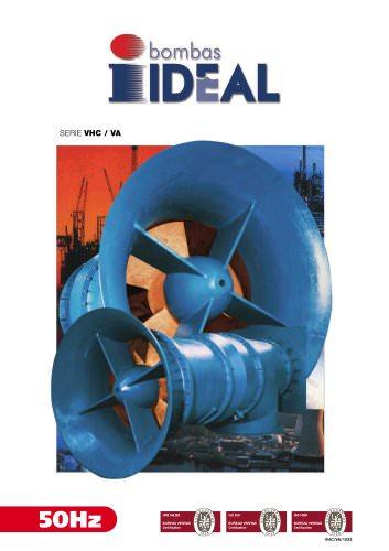 Propeller pumps - Mix flow pumps Serie VA-VHC