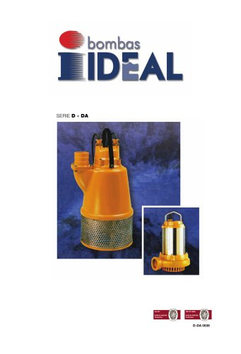 Pumps For Drainage Serie D-Serie DA 0036