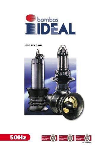 Submersible propeller pumps  Series SVA-SVH