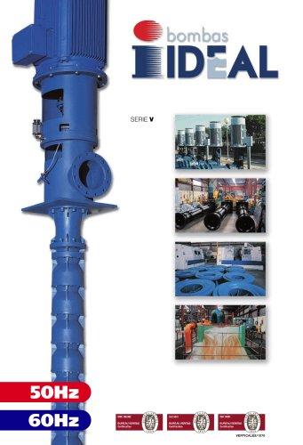 Vertical pumps Serie V