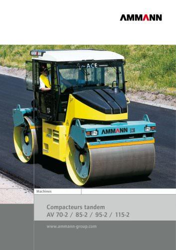 Compacteur tandem 7-11.5t