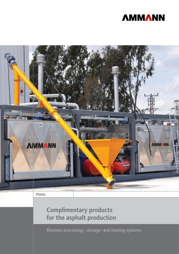 Complimentary products for the asphalt production