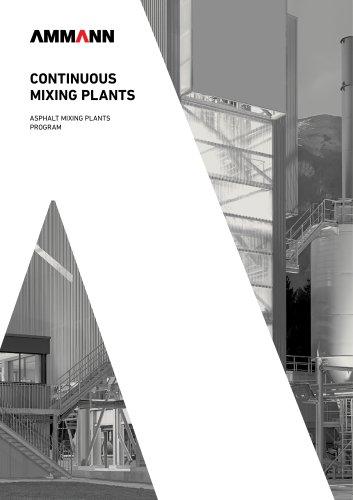 continuous asphalt mixing plants