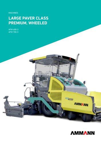 large paver class Premium, wheeled