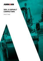 SOIL & ASPHALT COMPACTORS