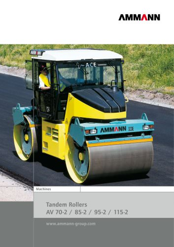 Tandem Rollers 8 - 9 t