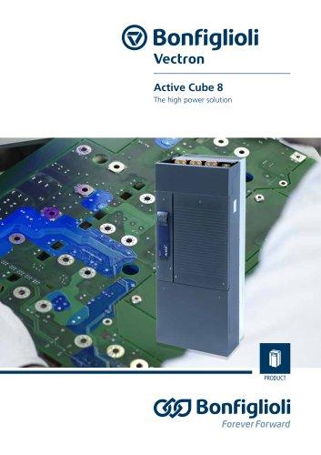 Active Cube 8 series - Servoinverter - The high power solution