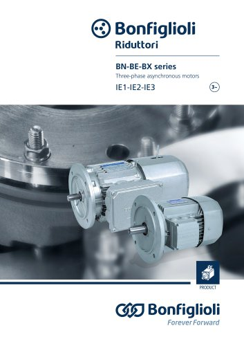 BN - BE - BX series - Three-phase asynchronous motors IE1-IE2-IE3