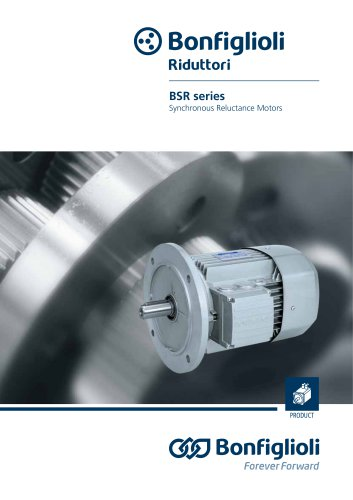 BSR series Synchronous Reluctance Motors