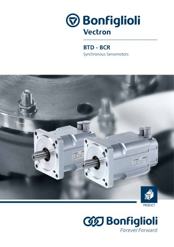 BTD - BCR series - Synchronous Servomotors