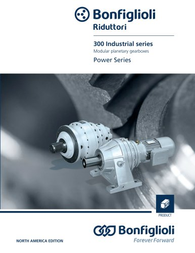 Planetary gearboxes - 300 Industrial Series - NORTH AMERICA EDITION