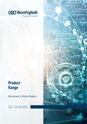 Product Range Mechatronic & Motion Systems