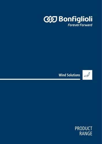 Product Range Wind Solutions