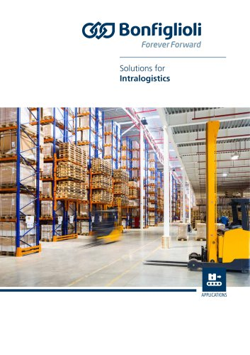 Solutions for Intralogistics