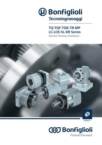 TQ-TQF-TQK-TR-MP-LC-LCK-SL-KR Series Precision Planetary Gearboxes
