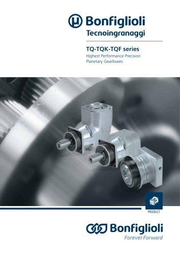 TQ - TQK - TQF series - Highest Performance Precision Planetary Gearboxes