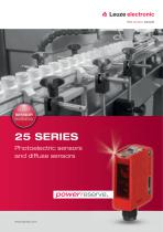 25 Series - Photoelectric sensors
