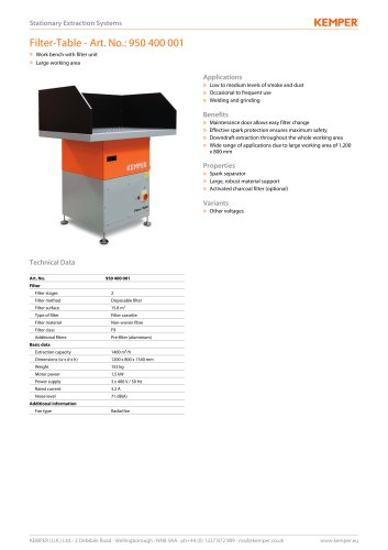 Filter-Table