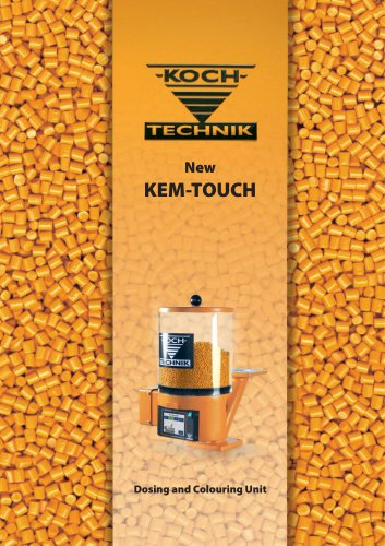 KEM TOUCH Colouring Device for Plastic Processing