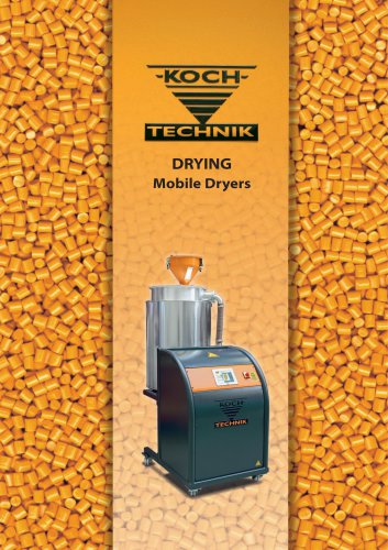 Pellet Drying - Mobile Dryers