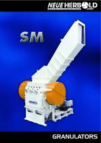 NEUE HERBOLD - Granulators - Cutting Mills SM Series