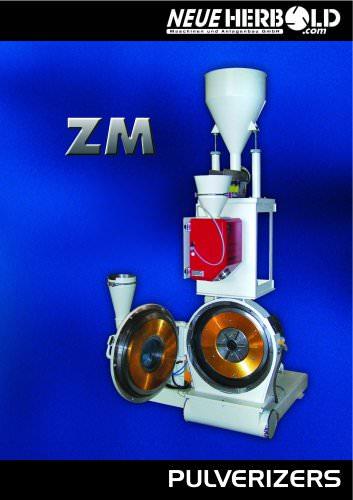 NEUE HERBOLD - Pulverizers ZM Series