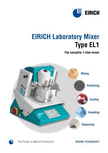 EIRICH Laboratory Mixer Type EL1