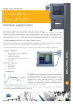 HT205 Spray Pasteurizer