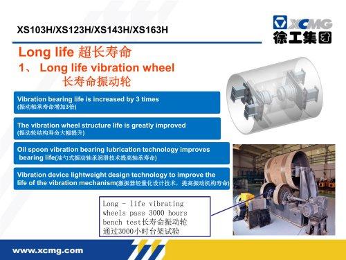 XCMG 14 ton XS143H road roller machine