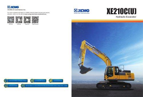XCMG 21Ton excavator XE210C construction