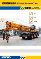 XCMG 25 Ton Rough Terrain Crane RT25
