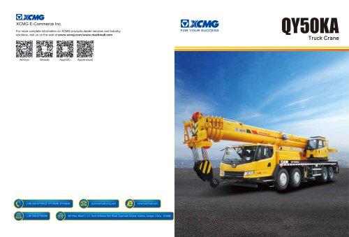 XCMG 50Ton Truck Crane QY50KA Construction