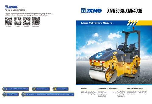 XCMG Light Vibratory Rollers XMR303S
